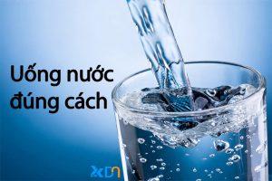 uống nước đúng cách khoa học
